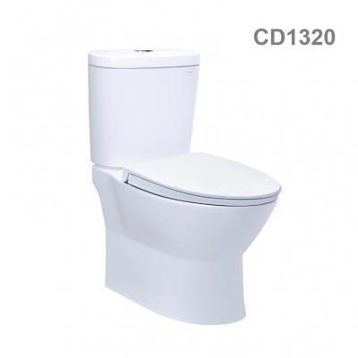 CD1320 - Bàn cầu hai khối, nắp êm. Sản phẩm mới năm 2020.