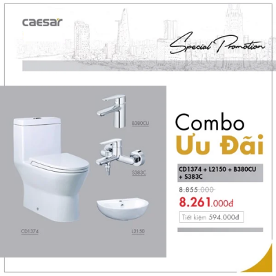 Combo sản phẩm CD1374+L2150+B380CU+S383C