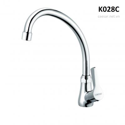 Vòi rửa chén, rửa bát, vòi chậu chén - 1 đường lạnh K028C Caesar