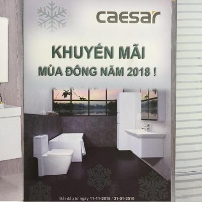 CAESAR - Khuyến mãi mùa đông năm 2018