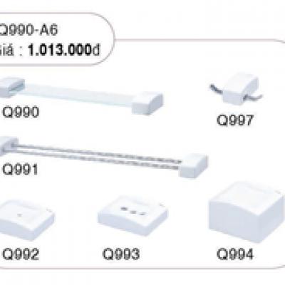 Bộ phụ kiện phòng tắm 6 món Q990-A6